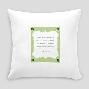 Irish Blessing Everyday Pillow