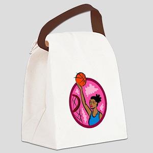 SLam Dunk Canvas Lunch Bag