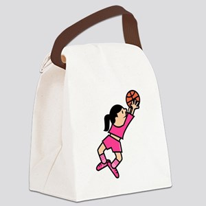 She Jumps! Canvas Lunch Bag