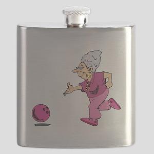 Bowling granny Flask