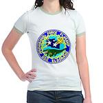 USS Eldorado (AGC 11) Jr. Ringer T-Shirt