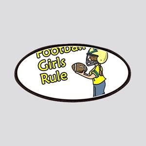 Football Girls Rule Patch
