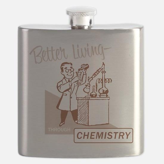 Better Living Through Chemistry Flask