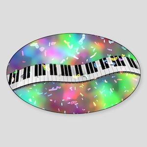 Rainbow Keyboard Sticker