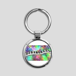 Rainbow Keyboard Keychains