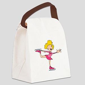 Cute Skate Canvas Lunch Bag