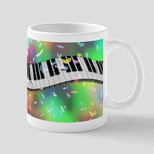 Rainbow Keyboard Mugs