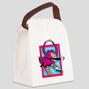 figure skater Canvas Lunch Bag