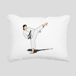 Side Kick Rectangular Canvas Pillow