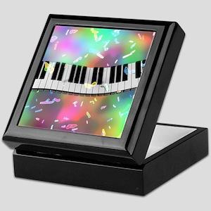 Rainbow Keyboard Keepsake Box