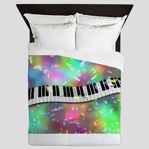 Rainbow Keyboard Queen Duvet