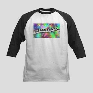 Rainbow Keyboard Baseball Jersey