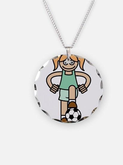 Soccer Girl Necklace
