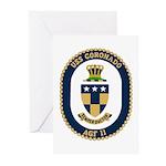 USS Coronado (AGF 11) Greeting Cards (Pk of 10)