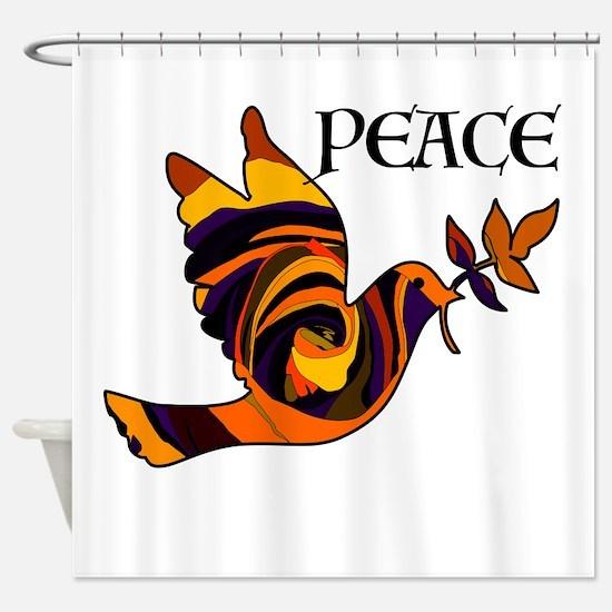 Peace Dove-MC Shower Curtain