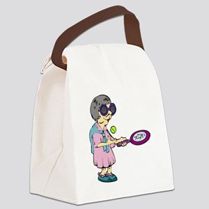 Seniors Tennis Team Canvas Lunch Bag
