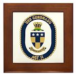 USS Coronado (AGF 11) Framed Tile