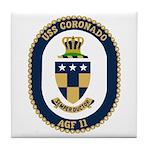 USS Coronado (AGF 11) Tile Coaster