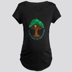 Bright Colored Friendship Tree Maternity T-Shirt