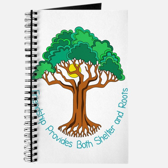 Bright Colored Friendship Tree Journal