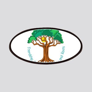 Bright Colored Friendship Tree Patch