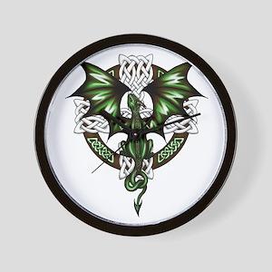 Celtic Dragon Wall Clock
