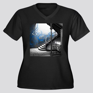 Gothic Staircase Plus Size T-Shirt
