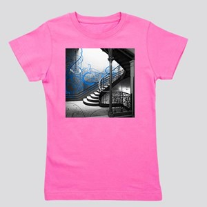 Gothic Staircase Girl's Tee