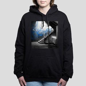 Gothic Staircase Women's Hooded Sweatshirt
