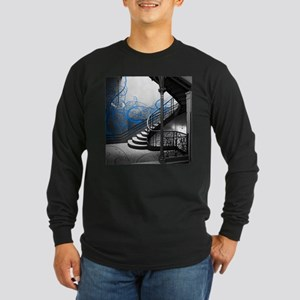 Gothic Staircase Long Sleeve T-Shirt