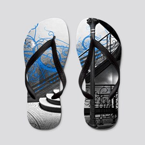 Gothic Staircase Flip Flops