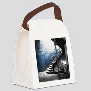 Gothic Staircase Canvas Lunch Bag