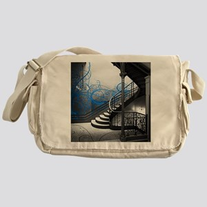 Gothic Staircase Messenger Bag