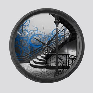 Gothic Staircase Large Wall Clock