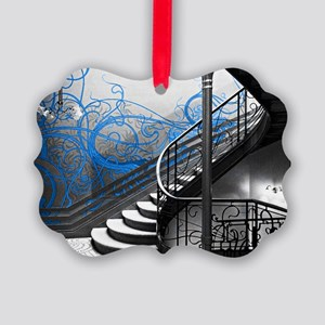 Gothic Staircase Picture Ornament
