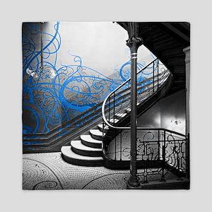 Gothic Staircase Queen Duvet