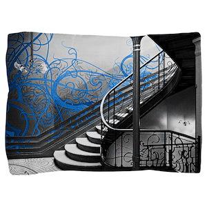 Gothic Staircase Pillow Sham