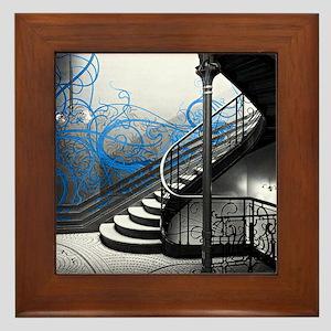 Gothic Staircase Framed Tile