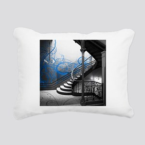Gothic Staircase Rectangular Canvas Pillow