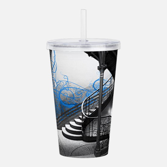 Gothic Staircase Acrylic Double-wall Tumbler