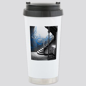 Gothic Staircase Stainless Steel Travel Mug