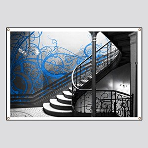Gothic Staircase Banner