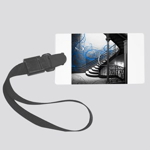 Gothic Staircase Large Luggage Tag