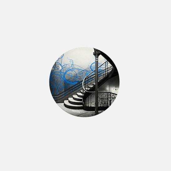 Gothic Staircase Mini Button