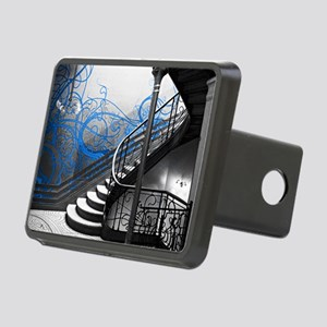 Gothic Staircase Rectangular Hitch Cover