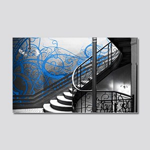 Gothic Staircase Car Magnet 20 x 12