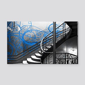 Gothic Staircase Rectangle Car Magnet