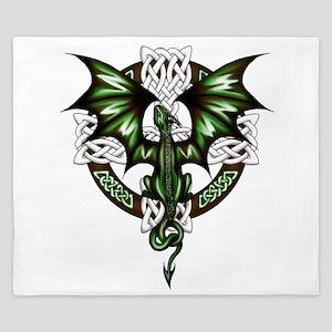 Celtic Dragon King Duvet