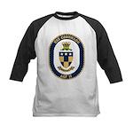 USS Coronado (AGF 11) Kids Baseball Jersey