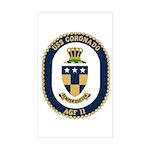 USS Coronado (AGF 11) Rectangle Sticker